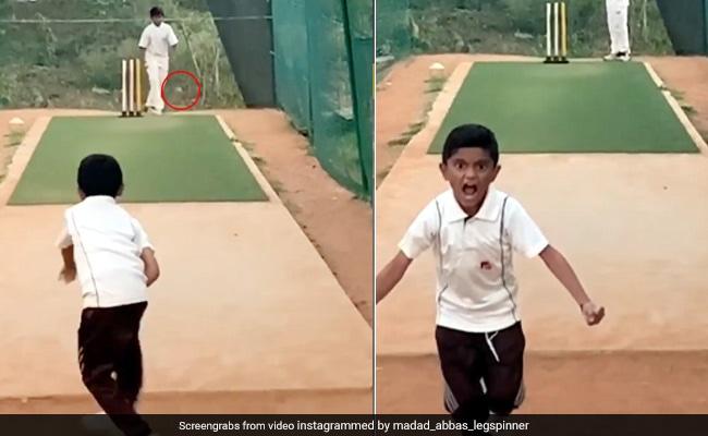 7 Year Old Boy Delivers Mysterious Ball Instagram Reel Video Goes Viral - 7 साल के बच्चे ने रहस्यमयी अंदाज में पिच पर नचाई गेंद, 20 लाख से ज्यादा बार देखा Video