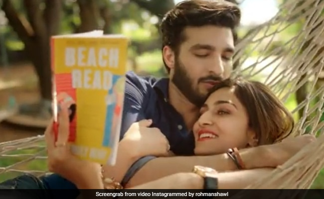 Sushmita Sen's Adorable Reaction To Boyfriend Rohman Shawl's New Song Maula