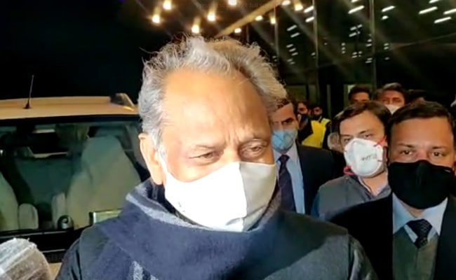 BJP Using Central Agencies To Destabilise Opposition: Rajasthan Chief Minister Ashok Gehlot