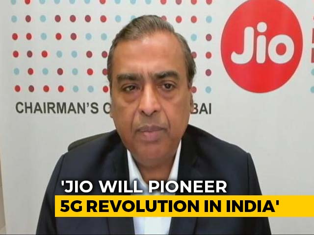 Video : Mukesh Ambani Plans Jio's 5G Rollout In Second Half Of 2021