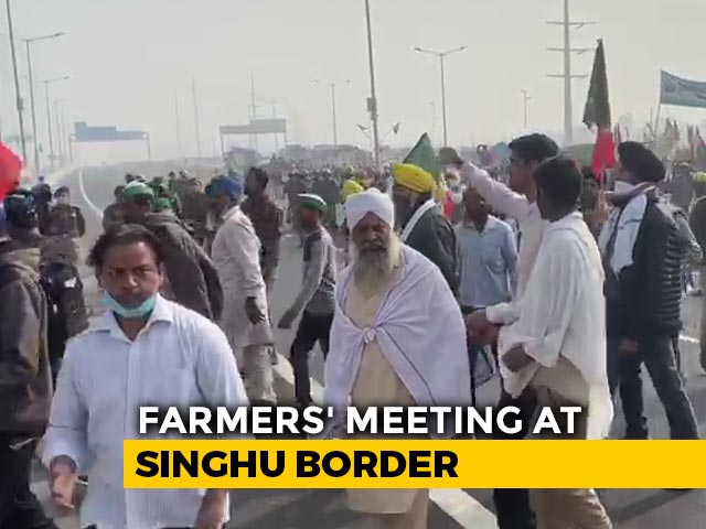 Video : Centre Offers Written Assurance To Farmers On Crop Prices