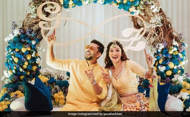 Gauahar Khan And Zaid Darbar's Pre-Wedding Festivities Begin. See Pics