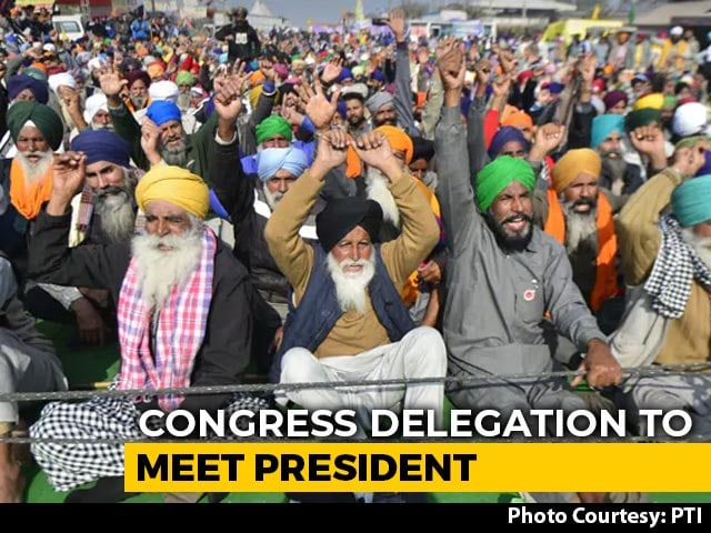 Video : Will Give Memorandum Signed By 2 Crore Farmers To President: Congress