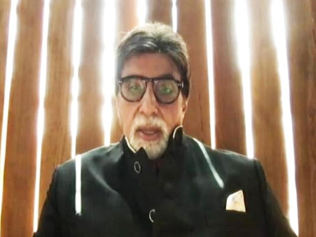 Video : Campaign Ambassador Amitabh Bachchan Explains COVID-19 Appropriate Behaviour
