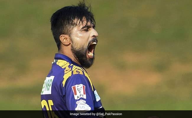 Mohammad Amir becomes the first bowler to take a fifer in LPL 2020