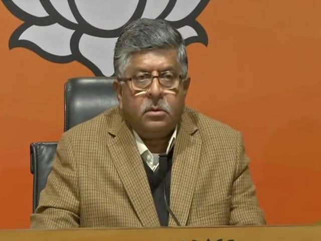 "Video : ""Resounding Slap On Separatists,"" Says BJP After J&K Local Polls"