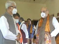 Watch: Amit Shah Pays Tributes To Rabindranath Tagore On Day 2 In Bengal