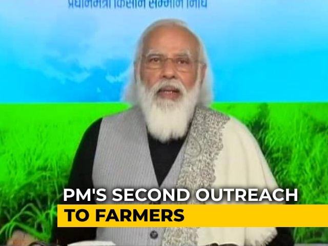 Video : PM Modi Targets Opposition In Interaction With Farmers