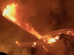 Kilauea Volcano Erupts On Hawaii's Big Island