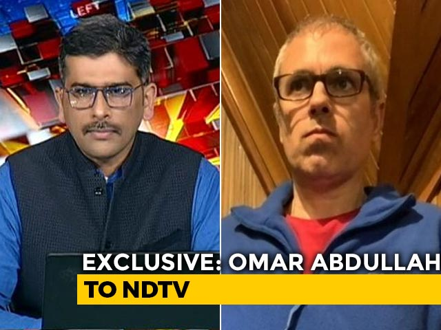 Video : Omar Abdullah On Kashmir's First Election After Loss of Special Status