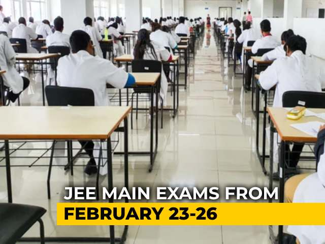 Video : JEE Main 2021 Dates Announced: First Attempt From February 23 To 26