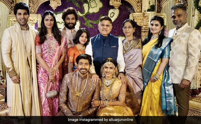 More Stunning Pics From Niharika Konidela And Chaitanya JV's Wedding, Featuring Allu Arjun And Ram Charan