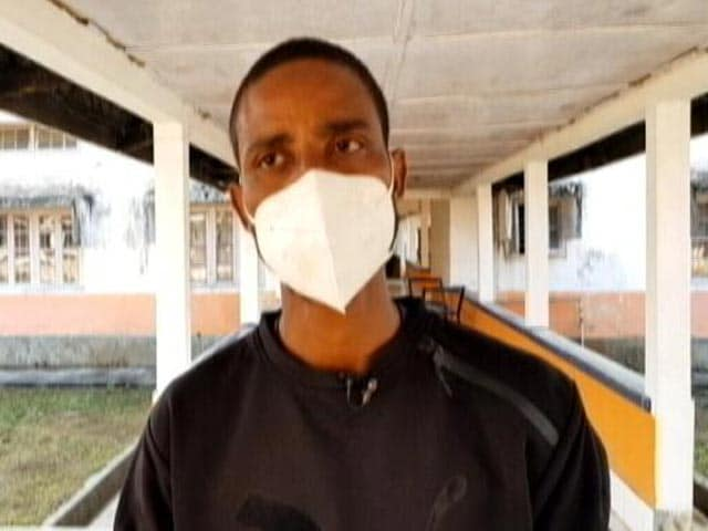Video : Sanitation Worker Who Cleaned COVID Wards For Months Yet Is Not A Permanent Employee
