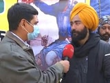 """Video : """"BJP Illegally Used My Photo For Farm Law Ads"""": Protester At Singhu"""