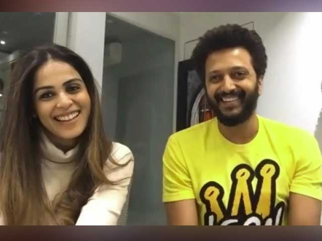 Video : Rapid Fire Q&A With Riteish & Genelia