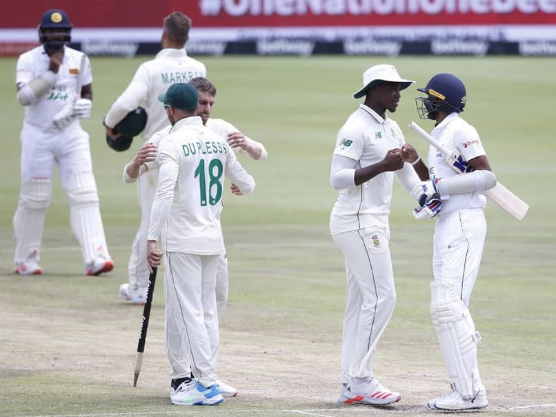 SA vs SL, 1st Test: South Africa Thrash Injury-Hit Sri Lanka By Innings And 45 Runs