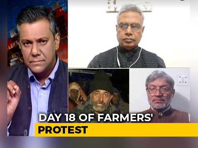 Video : Day 18 Of Farmer Protests Around Delhi