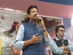 Posters Come Up Against BJP Leader Rajib Banerjee In Howrah