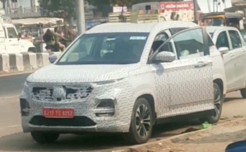It has been just about a year and a half since the launch of the MG Hector SUV in India