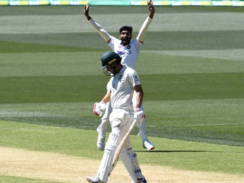 India Vs Australia 1st Test Live Cricket Score Jasprit Bumrah Strikes For India As Matthew Wade Falls For 8 In Adelaide News Games