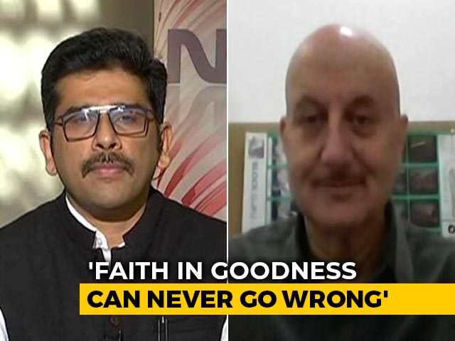 Video : Pandemic, Protests And Philosophy: Anupam Kher Unplugged