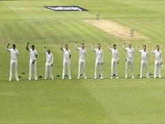 South African Cricketers Raise Fists In Anti-Racism Gesture