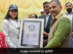 BHU Student Makes It To Guinness Book For World's Largest 'Spice' Painting
