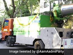Arvind Kejriwal Inaugurates Truck-Mounted Anti-Smog Gun To Tackle Delhi Pollution