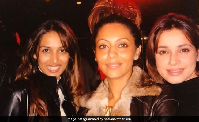 Gauri Khan, Malaika Arora And Neelam Kothari In A 'Fabulous' Throwback Treat