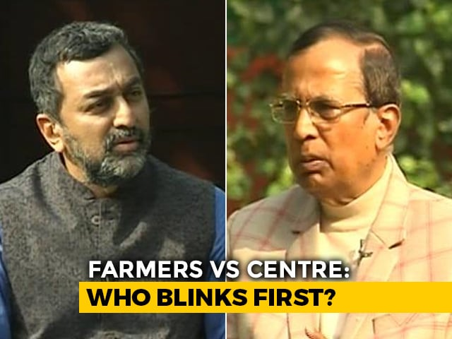 Video : Top Government Negotiator On Centre-Farmer Talks