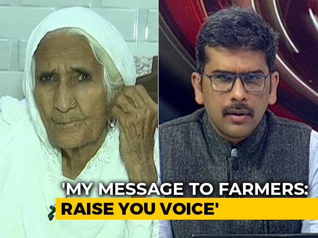 Video : Shaheen Bagh Dadi's Message Of Solidarity For Protesting Farmers