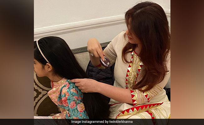 A Page From Twinkle Khanna And Daughter Nitara's 'Tress'ential Diaries