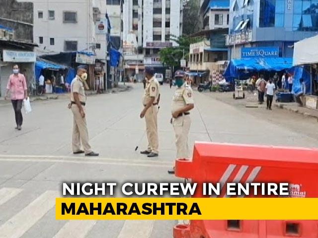 Video : Maharashtra Curfew From 11 PM To 6 AM Till January 5 Amid Covid