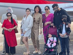 "Shilpa Shetty And Raj Kundra Fly To Goa With Family For The ""First Vacation Of 2020"""