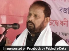 Assam Lawmaker Pabindra Deka Resigns From Assembly