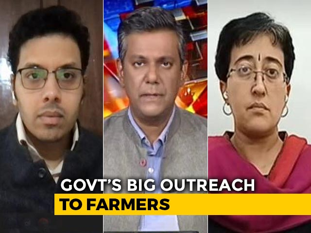 Video : Amit Shah, Farmer Leaders Meet Amid Protests