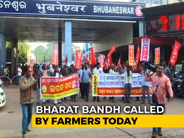 Video : <i>Bharat Bandh</i> Today Amid Farmer Protests, Travel Warning Issued