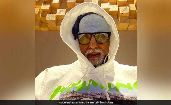 Amitabh Bachchan Stole 'A Few Moments Of Peace' At This Place