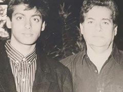 Salim Khan With Son Salman And Amitabh Bachchan In Throwback Gems