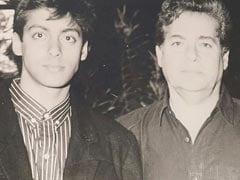 Salim Khan With Son Salman And Amitabh Bachchan In Throwback Gems