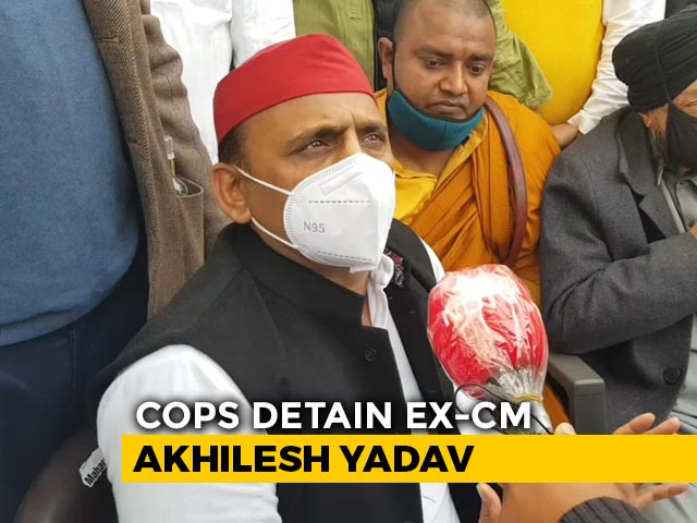 Video : Covid Not for BJP, Only For Opposition Protests?: Akhilesh Yadav