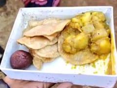 छत्तीसगढ़ : जशपुर में CM भूपेश बघेल के कार्यक्रम में बांटा गया चीटियों वाला खाना