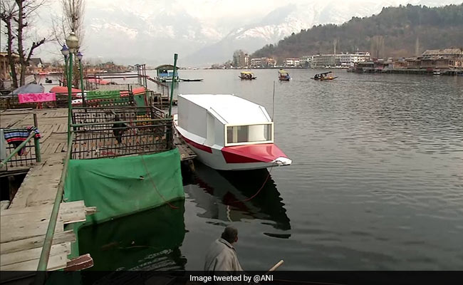 Boat Ambulance Service To Begin Operations On J&K's Dal Lake