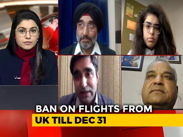 Video : New Covid-19 Strain: India Bans Flights From UK