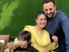 Here's How Kareena Kapoor And Saif Ali Khan Celebrated Taimur's 4th Birthday