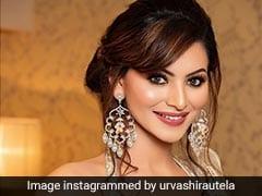 Urvashi Rautela's Shimmering <i>Saree</i> Sets The Sparkle Style Quotient Higher
