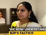 "Video : ""TRS Fell Short Of Own Expectations"": KCR's Daughter K Kavitha On Hyderabad Polls"