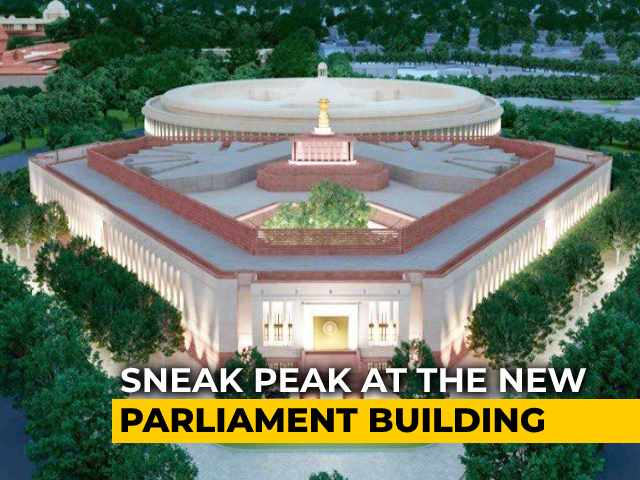 Video : Triangular Shape, National Symbols: What The New Parliament Will Look Like
