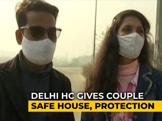Video : UP Inter-faith Couple Gets Protection From Delhi High Court