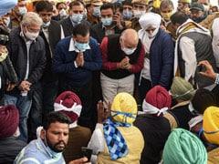 """Here As Volunteer, Not Chief Minister"": Arvind Kejriwal Visits Farmers"